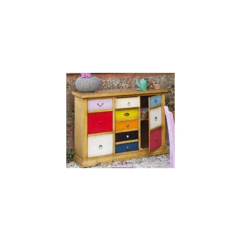 Credenza 3 ante 1 cassetto domus mobili for Domus mobili
