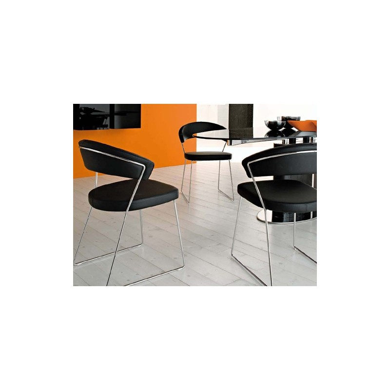 Sedia NEW YORK Calligaris Connubia CB1022-SK